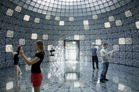 QR Coded Pavilions