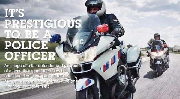 Law Enforcement Rebranding Moves