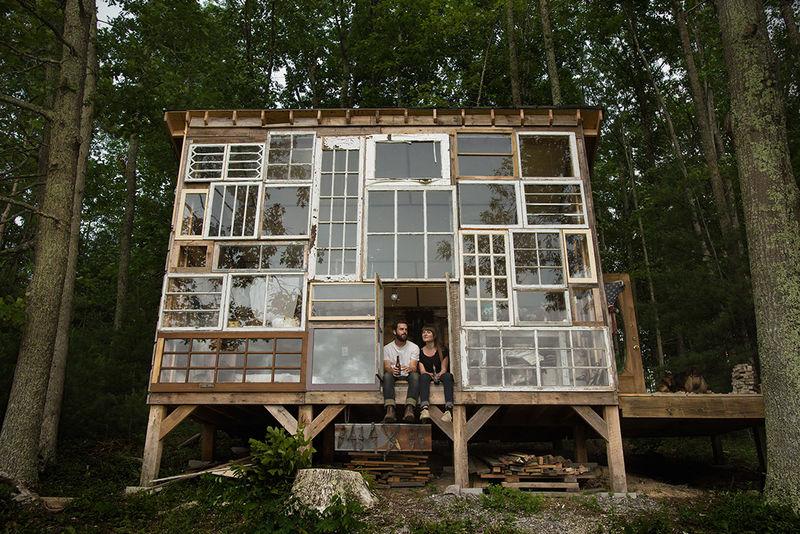 Repurposed Window Retreats