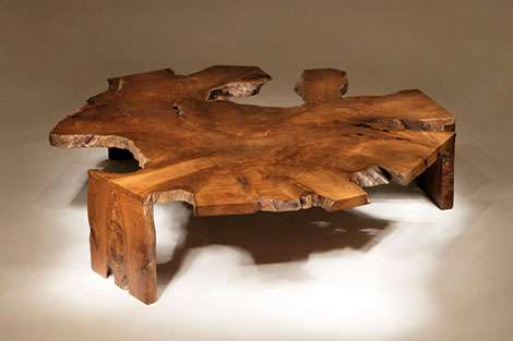 Distorted Wooden Tables