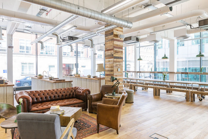 Homely Rustic Office Spaces