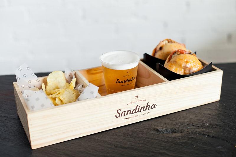 Rustic Sandwich Shop Branding