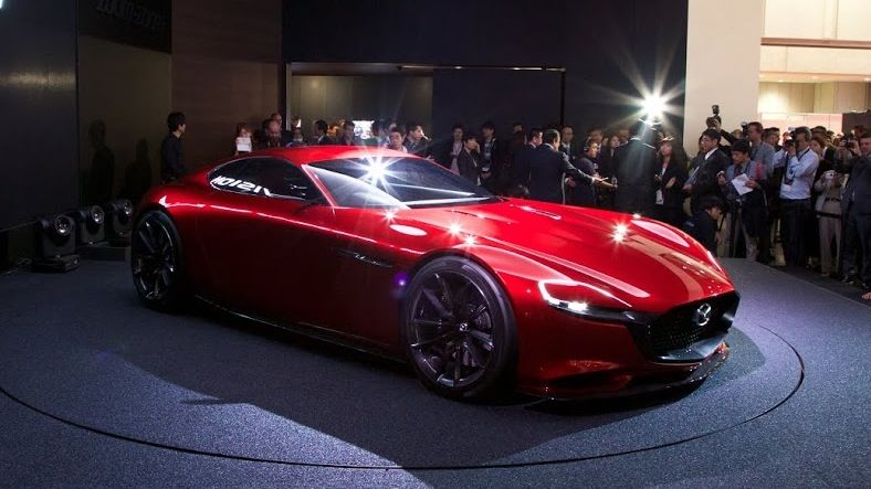 Cherry Red Concept Cars Rx Vision