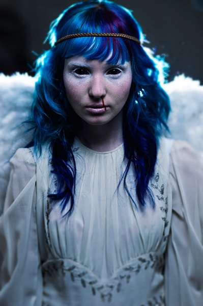 Demonic Angel Photography