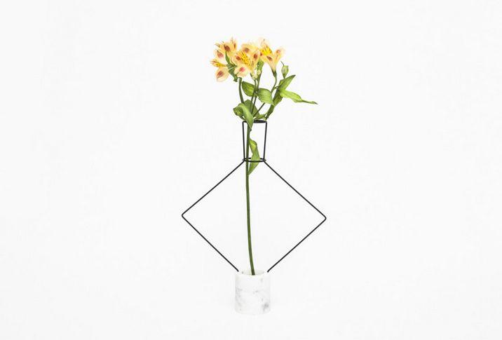 Geometric Wire Vases