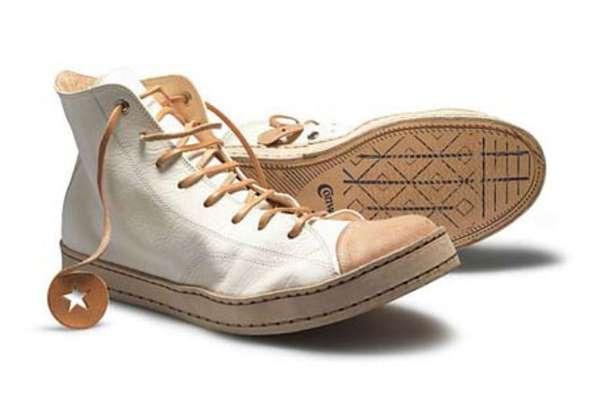 Retro Leather Sneakers