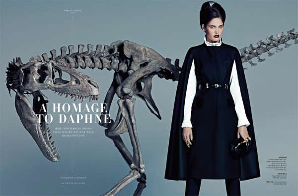 S Magazine 'A Homage to Daphne'