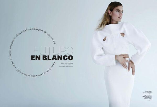 Futuristic Alabaster Fashion