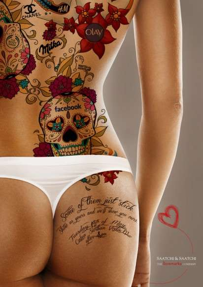 Logo Tattoo Ads