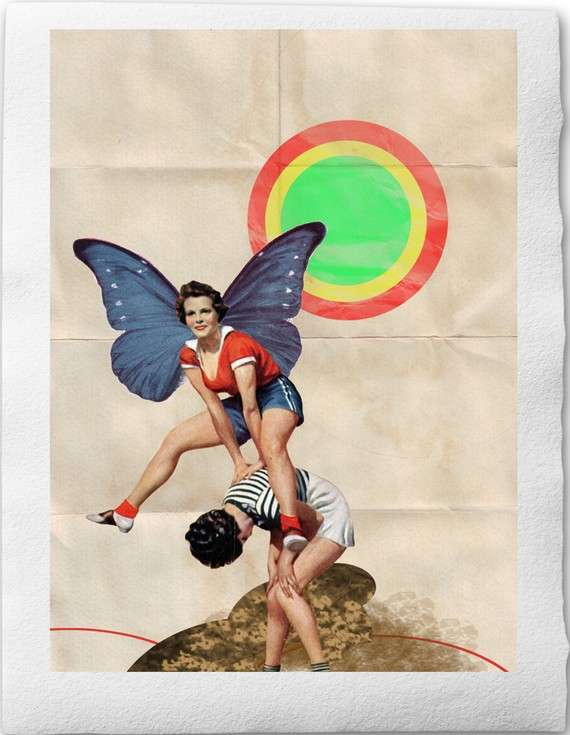 Alluring Retro Collages