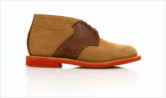 Saddle Chukka