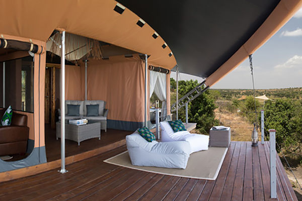Luxuriously Wild Safari Camps