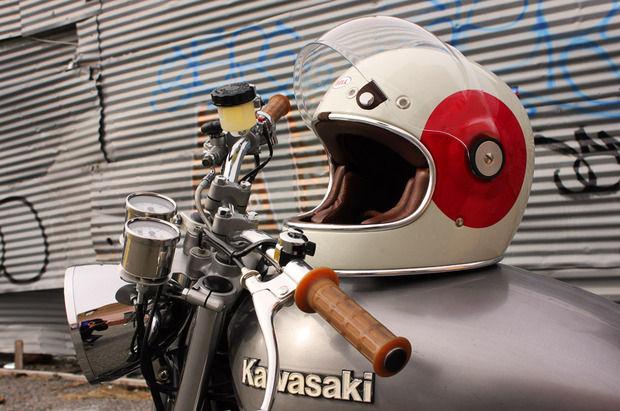 Neo-Vintage Motorcycle Helmets