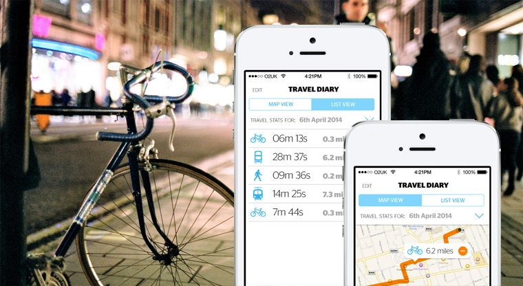 Data Driven Cyclist Apps