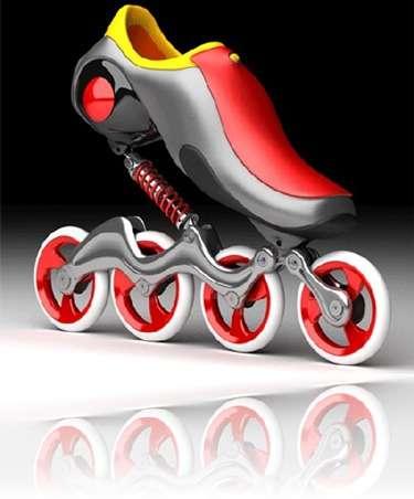 Safer Inline Skates