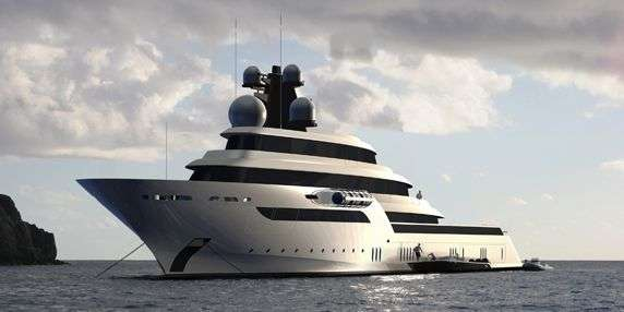 Spinning Yacht Decks