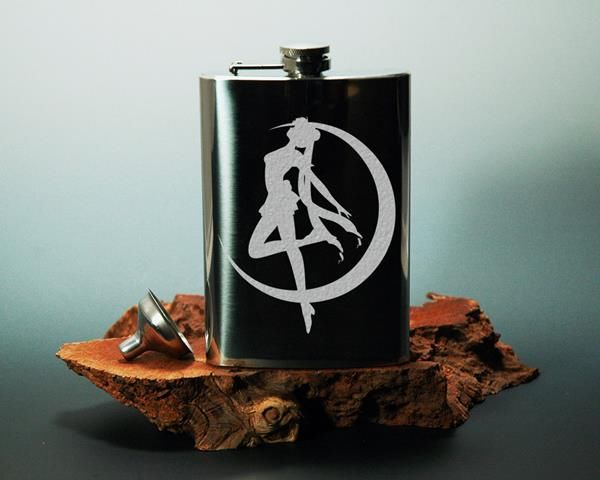 Anime Heroine Flasks