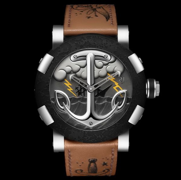 Sailor Anchor Tattoo Watches