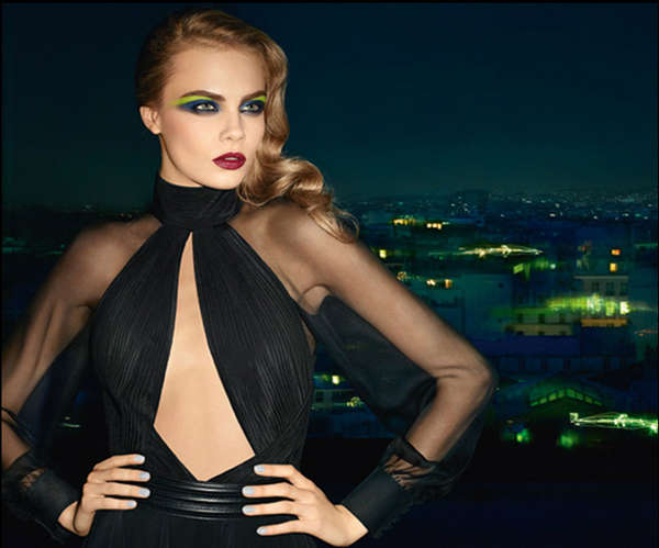 Electric Eyeshadow Campaigns