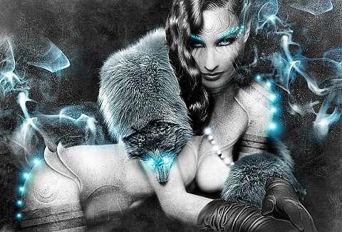 Intergalactic Goddess Art