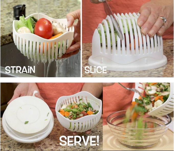 Quick Kitchen Salad Preparers