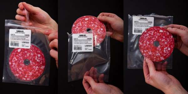 salami CD packaging