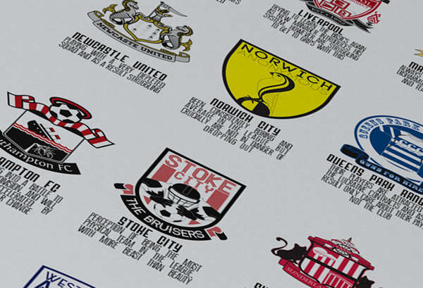 Revamped Football Logos