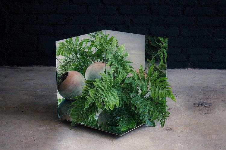 Intricately Designed Potted Plants