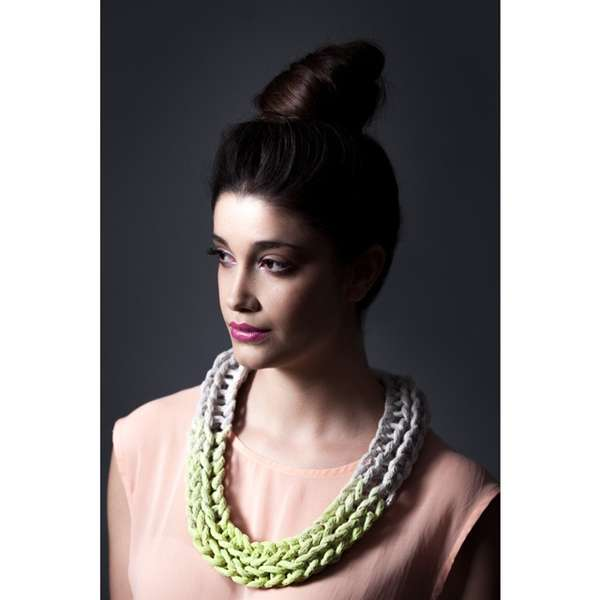 Crocheted Chain Accessories