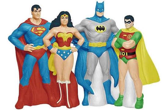 Crime Fighting Superhero Shakers