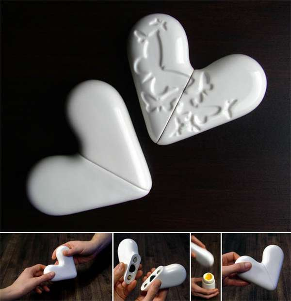 Magnetic Salt and Pepper Hearts