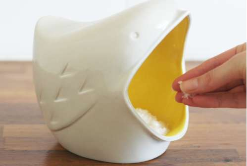 Broad Beak Salt Dispensers