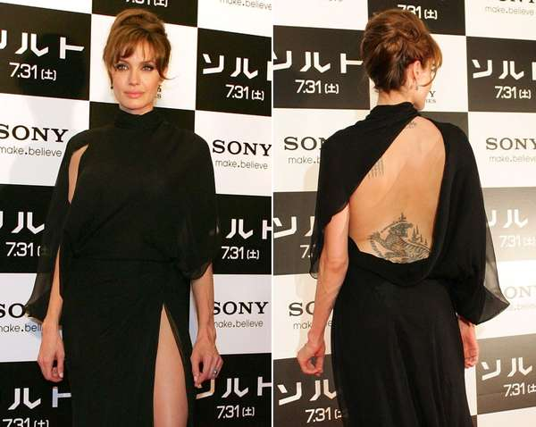 Tattoo-Bearing Gowns