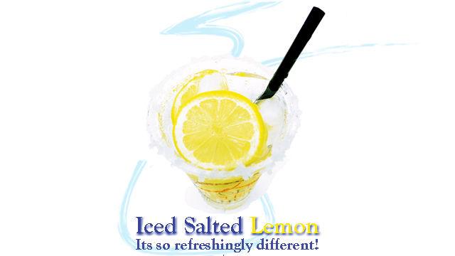 Salted Lemon Beverages