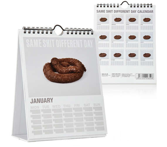Feces-Focused Calendars