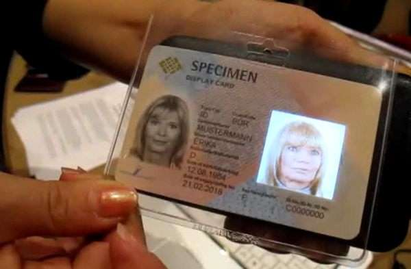 Holographic ID Cards