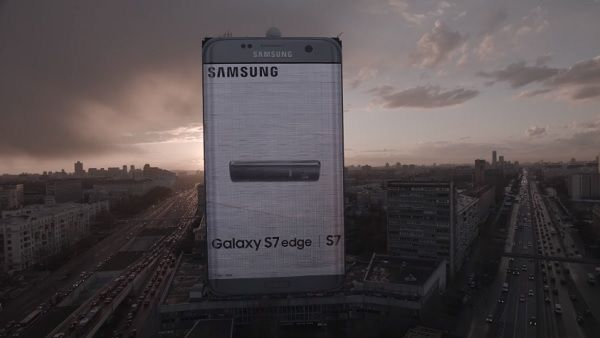 Giant Smartphone Billboards