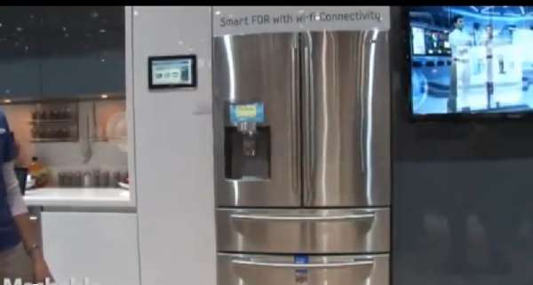 Wi-Fi Enabled Fridges