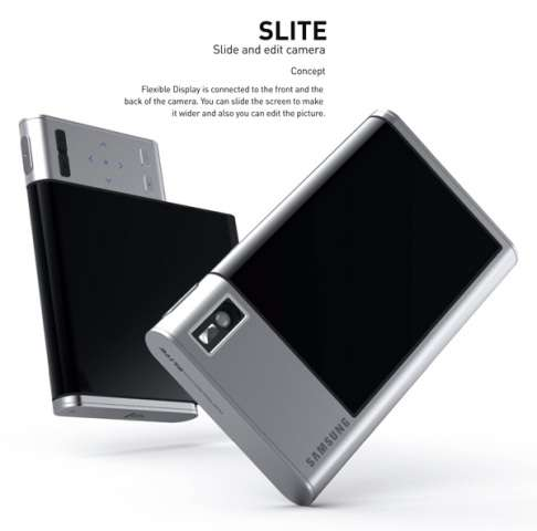 Slide-Out Camera Screens