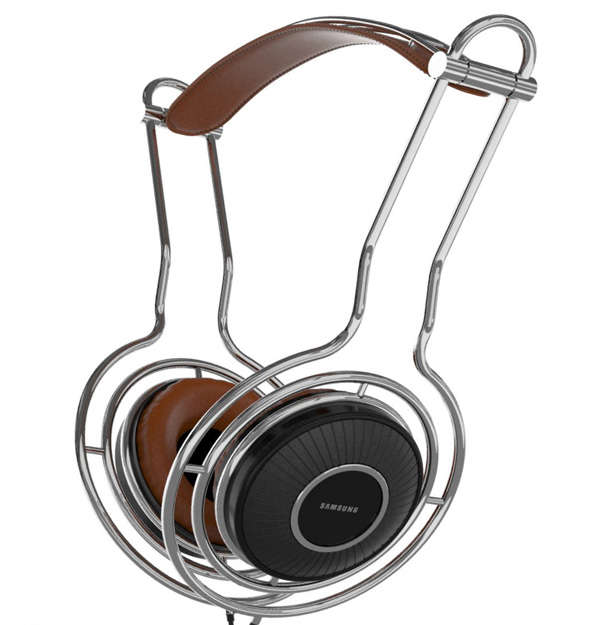 Retro Modern Headphones