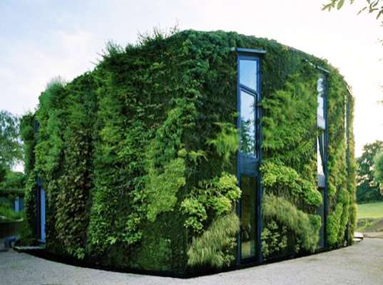 Green Wall Abodes Samyn And Partners