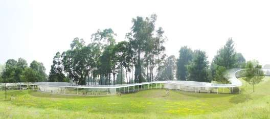 Flowing Farm Structures
