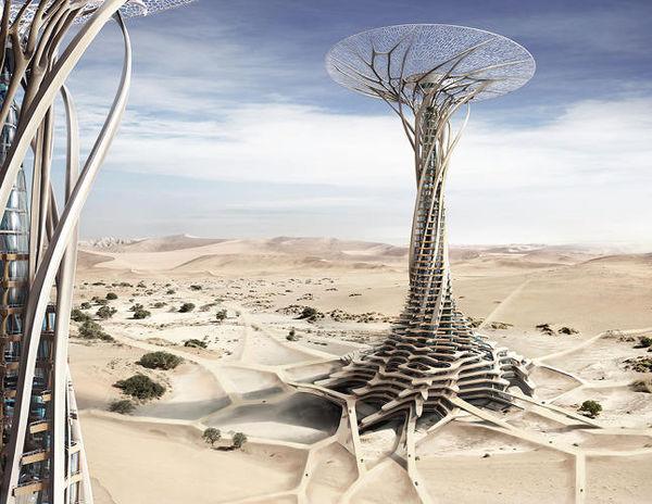 3D-Printed Desert Tower