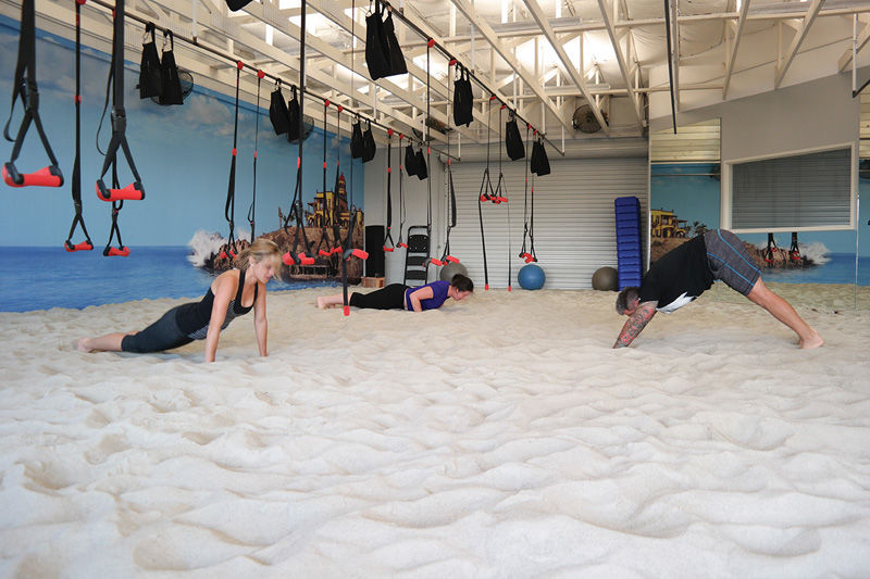 Sand-Covered Gyms