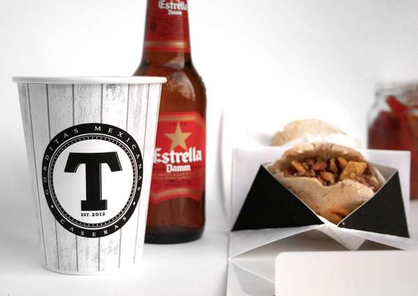 Food-Cradling Takeout Packages