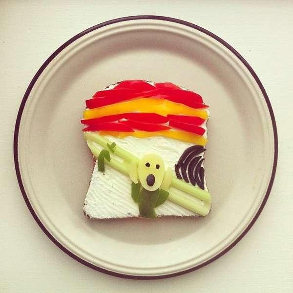 Sandwich Art Displays