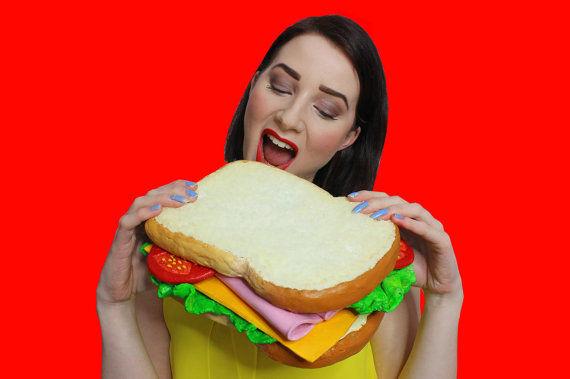 Realistic Sandwich Purses