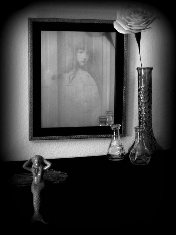 Ghostly Haunted Mirrors Sandy Ervin