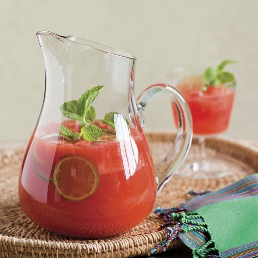 Spicy Watermelon Sangrias