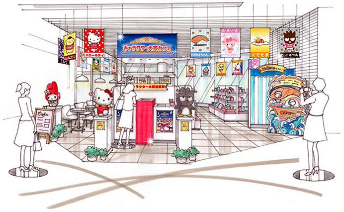 Anime Character Cafes